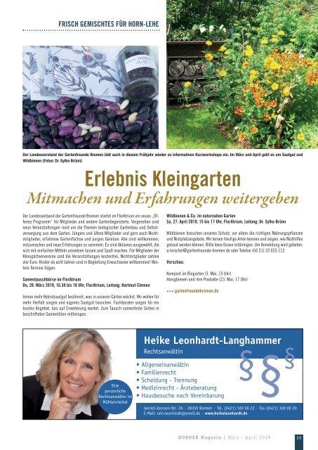HORNER Magazin   März-April 2019