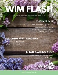 WIM Flash Magazine March 2019