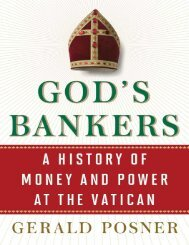 Gods Bankers_ A History of Money and power - Gerald Posner