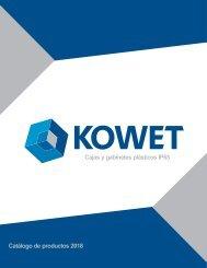 CATÁLOGO KOWET