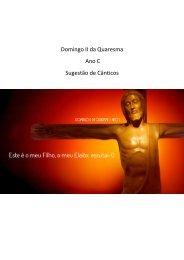 Domingo II da Quaresma - Ano C