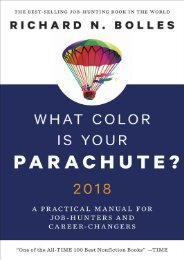 What Color Is Your Parachute  2018 by Richard N. Bolles copy