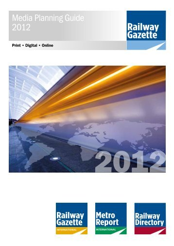 Media Planning Guide 2012 - Railway Gazette