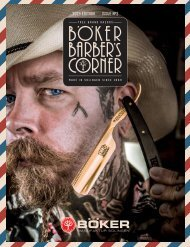 Boker Barber's Corner | BUSA Edition 2019