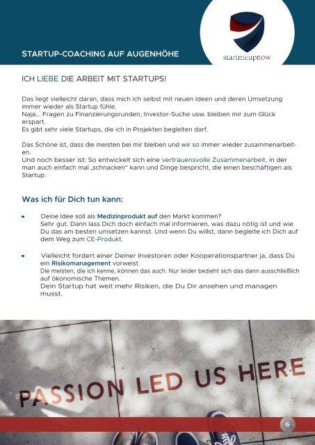 Der Flyer von yourprivacyfirst und Startmeupnow!