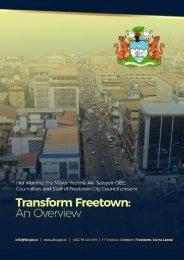 Transform Freetown, an overview (14)