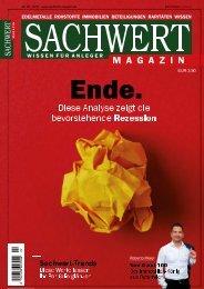 Sachwert Magazin 2-19