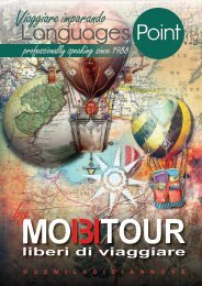 CATALOGO LANGUAGESPOINT - MOBITOUR - Viaggi STUDIO 2019