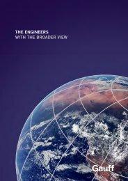 50 Jahre Broschüre - Englisch - HP Gauff Ingenieure GmbH & Co. KG