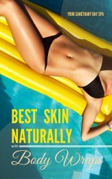 Best Skin Naturally With Body Wraps