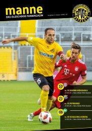 manne - das Oldschdod Fan-Magazin I Ausg. 4 2018/2019