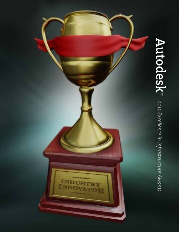 2012 Excellence in Infrastructure Awards - Autodesk Excellence in ...