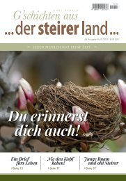 der steirer land ... Ausgabe 01/2019 KARL OSWALD