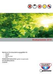Zilmet_Broschuere_Bruttopreisliste2019