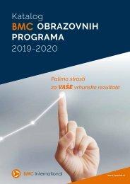 BMC katalog obrazovnih programa 2019-2020