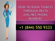 How To Book Tickets Through Delta Airlines Phone Number