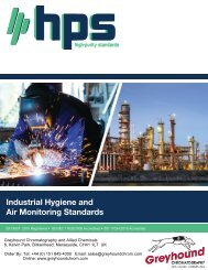 High Purity Standards Industrial-Hygiene-Brochure 2019
