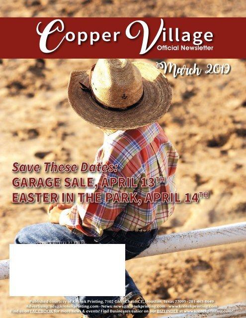 Copper Village March 2019