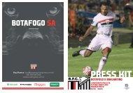 PRESS KIT: Botafogo x Bragantino - 07/03/2019 - Camp. Paulista