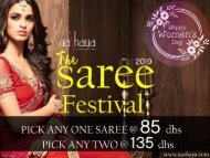 womens day special saree offer