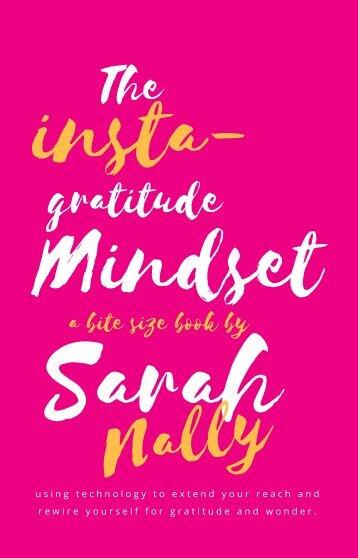 The insta-gratitude mindset