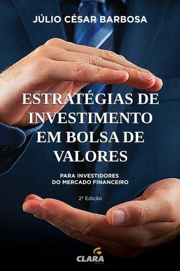 ESTRATÉGIA DE INVESTIMENTO EM BOLSA DE VALORES