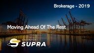 LBS  - Logistics / Brokerage _Brochure_2019