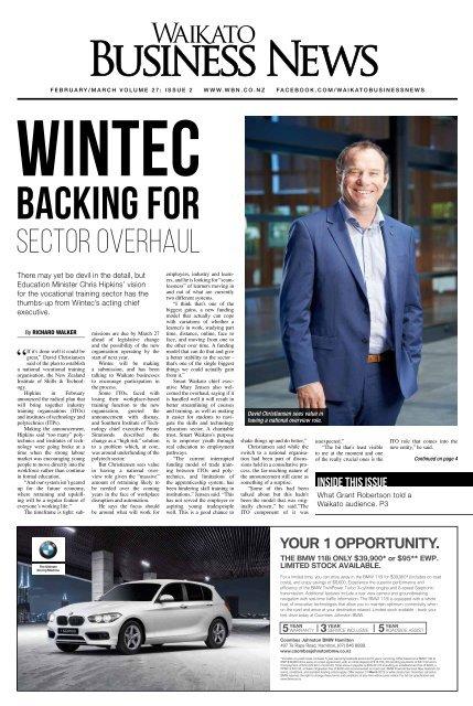 Waikato Business News February/March 2019