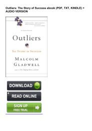 (LEFT Outliers: The Story of Success eBook PDF Download