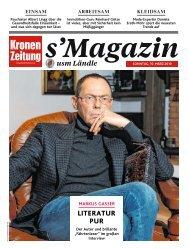s'Magazin usm Ländle, 10. März 2019