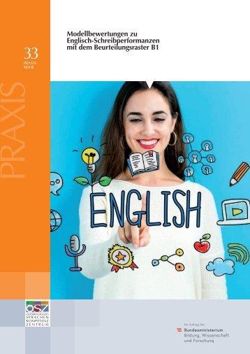 Modellbewertungen zu Englisch-Schreibperformanzen mit dem Beurteilungsraster B1