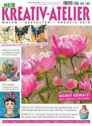 Zeitschrift: Mein Kreativ-Atelier Nr. 105