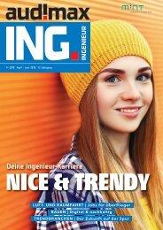 audimax ING. 4/2019: Karrieremagazin für Ingenieure