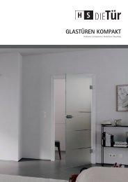 HS Die Tür Prospekt – Glastüren
