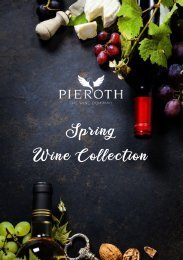 Spring Wine Collection 2019