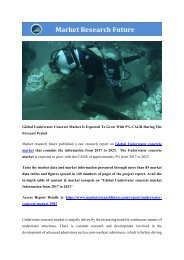 Global Underwater Concrete Market