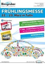 Frühlingsmesse Autohaus Birngruber Tulln