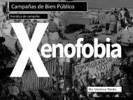 Campaña contra Xenofobia