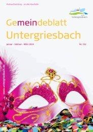 Gemeindeblatt Untergriesbach 152