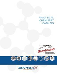 SiliCycle  Analalytical Chemistry