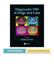 (Nx6z) Download Book Diagnostic MRI in Dogs and Cats eBook