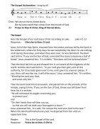 St Mary Redcliffe Church Pew Leaflet - March 10 2019  - Page 4