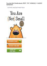 (PRIVILEGED) Download You Are Small Anna Kang ebook eBook PDF