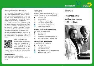 Faltblatt 08. März 2019 Katharina Heise