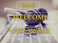Email technical Support Service Number +1-877-336-9533