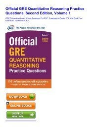DOWNLOAD Official GRE Super Power Pack, Second Edition FOR