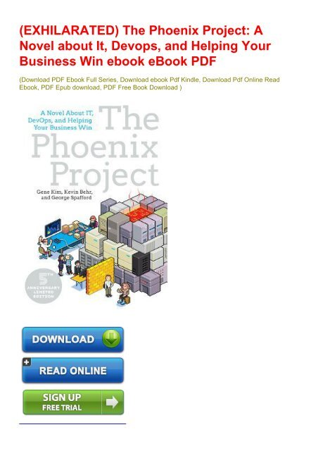 the phoenix project pdf ebook free download