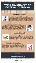 Top 4 Advantages Of External Cladding