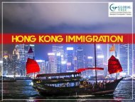 Hong Kong Immigration Consultants in India - Global Tree