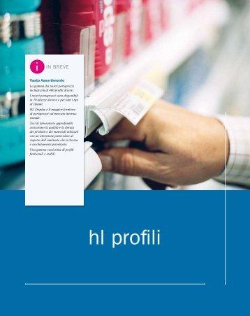 hl profili - Display Italia